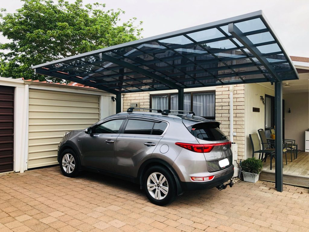 Cantilever Single Carport | Grey | Living Space