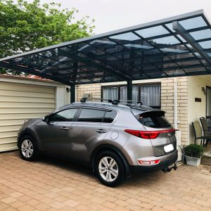 Cantilever Single Carport | Grey | Living Space