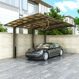 Cantilever Single Carport   Champagne   Living Space