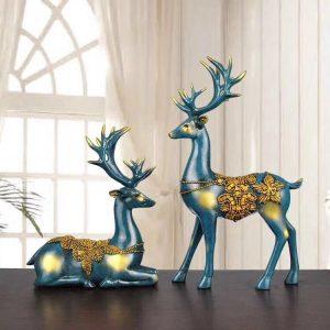Deer Statue Home Decor | Living Space