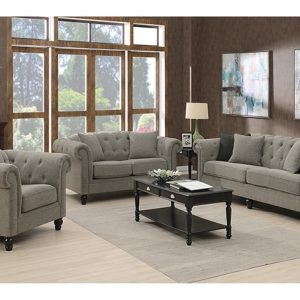 Darcy Fabric Lounge Suite | Living Space
