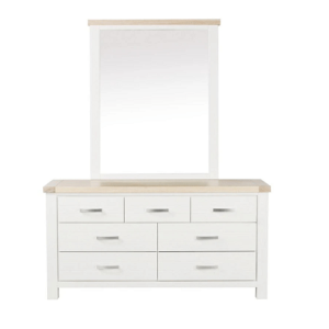 Emily Dresser With Mirror | Living Space