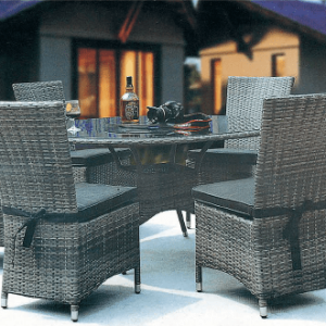 Highfield Outdoor Dining Suite | Living Space