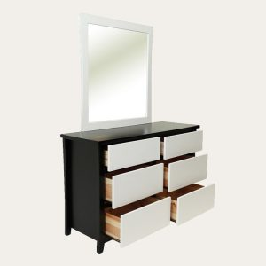 Willowton dresser with mirror | Living Space